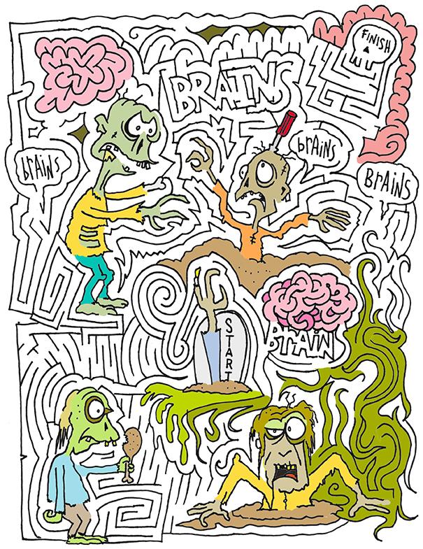 Zombie MazeToons