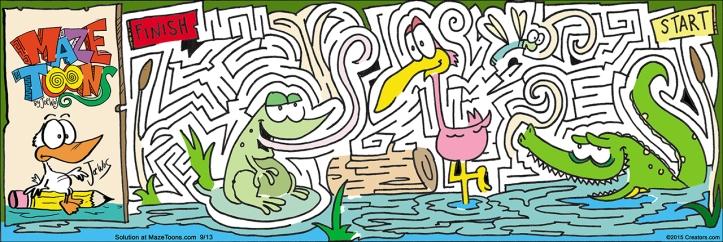 swamp maze