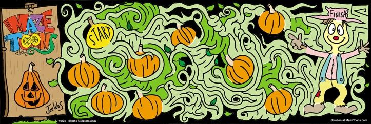 Pumpkin Patch Maze