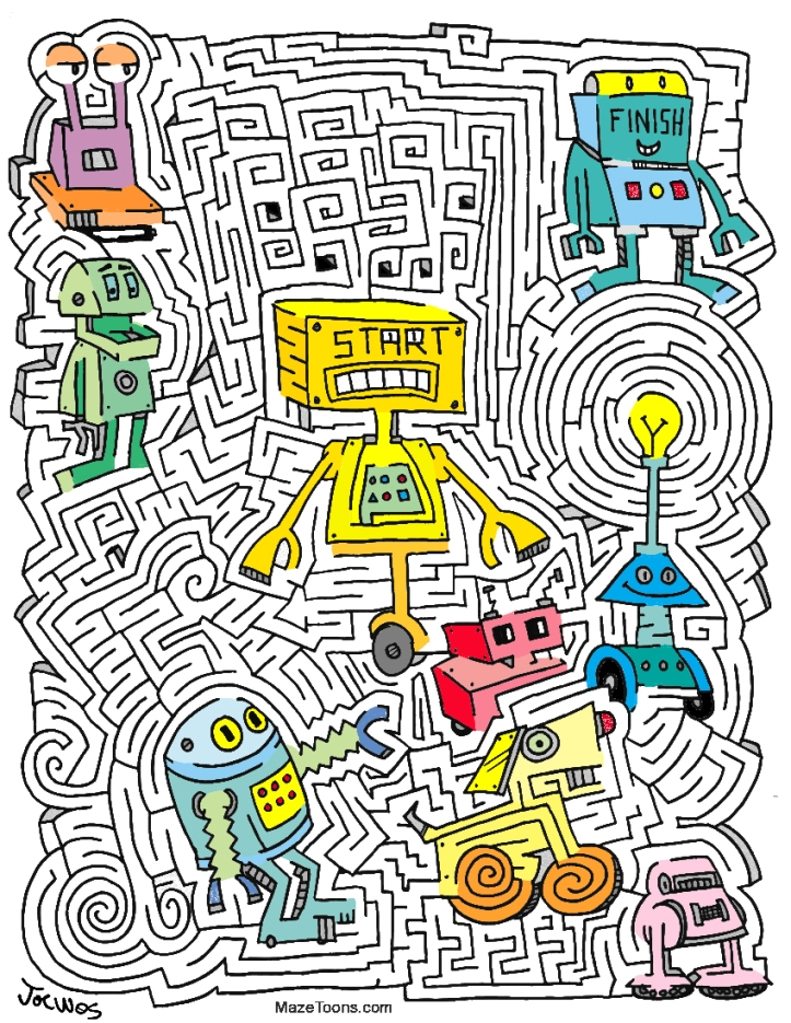 Robot MazeToons