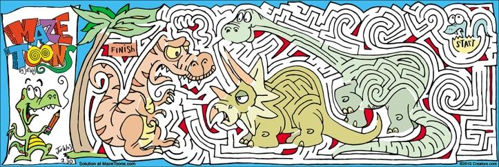 Dinosaur MazeToons