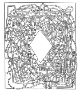Lewis Carroll Maze