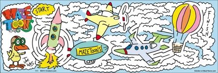 National Aviation Month Maze