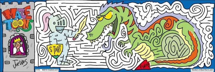 Dragon Maze