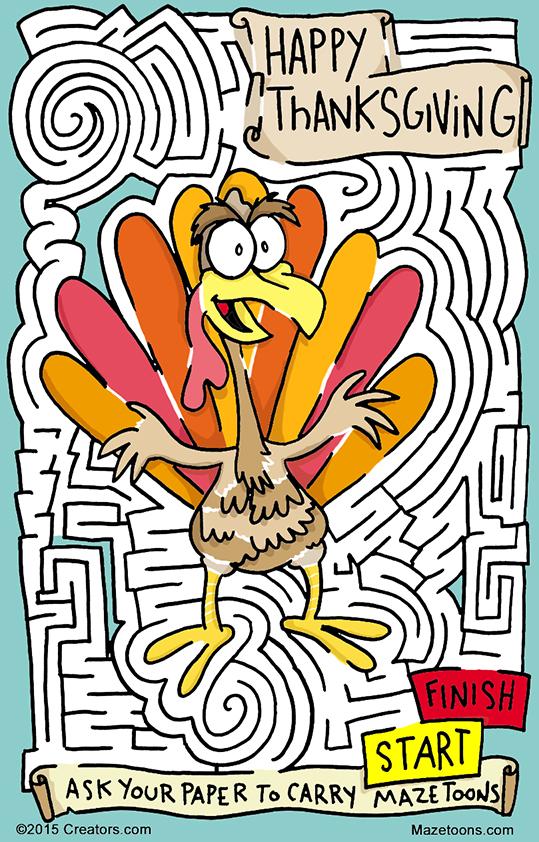 Turkey Maze