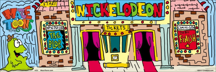The Nickelodeon, the world's first movie theater was in Pittsburgh.